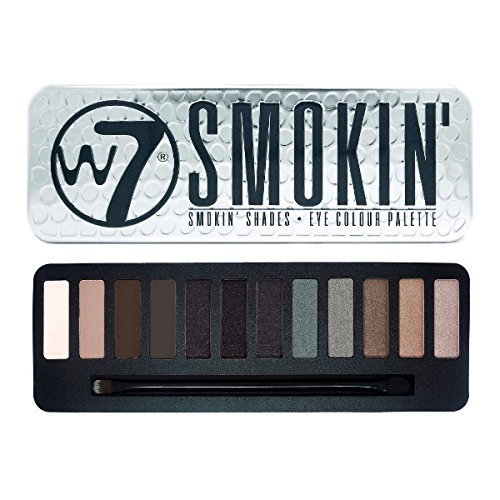 Shadow Smoky Eye (W7 Smokin' Shades Eye Colour Palette, 1er Pack (1 x 172 g))