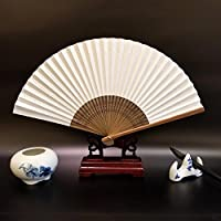 Daeou Abanico de papel estilo japonés estilo chino clásico plegable pintura caligrafía ...
