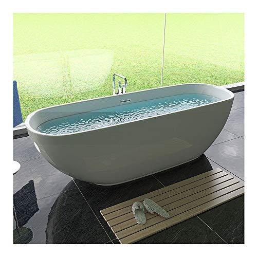 Luxus - freistehende Acryl Badewanne