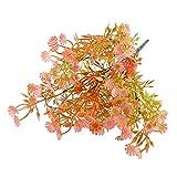 Paquet de 3 vaporisateurs d'étoiles colorées Salle de Fleurs Décoration d'intérieur et d'extérieur Plastique Artificiel Fausse Fleur (Pots Non Inclus)