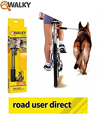Walky Dog - The Dog Walking Bike Attachment - Fits All Cycles .... And all Dogs
