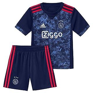 adidas Ajax 2017–2018A Mini, Unisex T-Shirt Children, AZ7879, Blu (Azuosc/Rojfue), 104