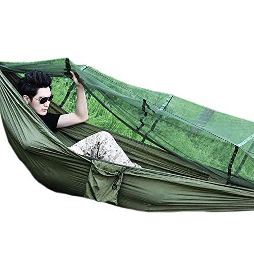 Jcnfa-hängematte Outdoor Camping Hängematte - mit Moskitonetz, Multifunktions-Sonnenschirm...