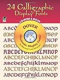 24 Calligraphic Display Fonts