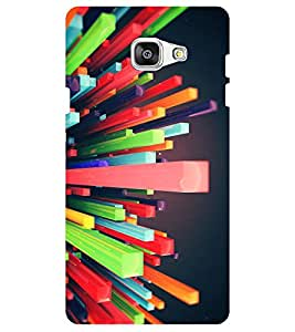 Chiraiyaa Designer Digital Printed Premium Back Cover Case for Samsung Galaxy J7 Prime (colorful blocks nature) (Multicolor)