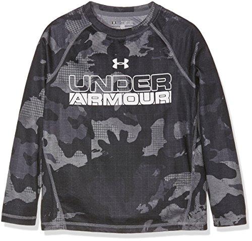 Under Armour Jungen Infrared LS Fitness-Sweatshirts, Schwarz, L (T-shirt Coldgear Kinder)