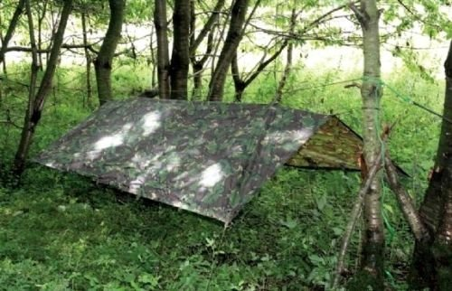 HHH Hunting� Large Military Basha Army tarp camo bivi tent Fishing camping Hunting Shelter 2.5m