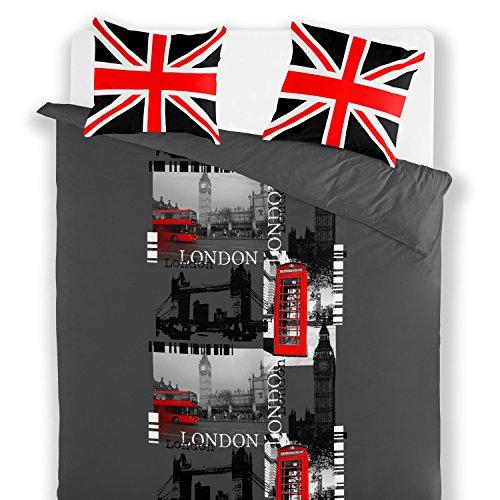 Van Der Haegen & Neckebroeck 6524022KF0MNL Housse de couette Polyester Coton Multicolore 44 x 25 x 6 cm