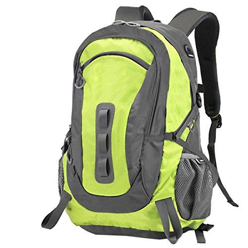 Yy.f30L Outdoor-Sport-Rucksack Taktik Camping Wandern Angriff Kleiner Rucksack Taschen Schulranzen Multifunktionale Rucksäcke (lila Und Grün) Purple