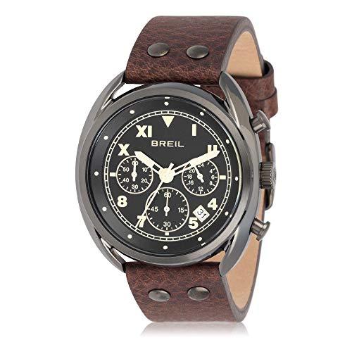 Breil Reloj Cronógrafo para Hombre de Cuarzo con Correa en Cuero TW1666