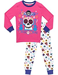 Disney Girls Coco Pyjamas - Snuggle Fit - Ages 3 To 12 Years