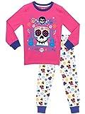 Disney - Pijama para niñas - Coco - Ajuste Ceñido - 5 - 6 Años