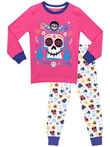 Disney Mädchen Coco - Lebendiger als das Leben Schlafanzug - Slim Fit - 146 (Strampelanzug Pyjama Mädchen)