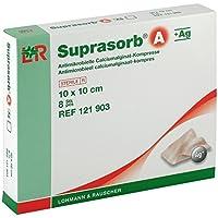Suprasorb A+Ag Antimikobiellen Calciumalginat Kompressen 10x preisvergleich bei billige-tabletten.eu