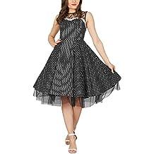 BlackButterfly 'Vivien' vestido de lunares vintage años 50