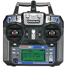 GoolRC GC6 2.4G 6CH AFHDS2A Transmisor Modo 2 y GC-6 6CH Receptor para RC Helicóptero Multicóptero Ala Fija