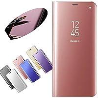 Nadoli für Xiaomi Redmi 5 Spiegel Hülle,Mirror Effect PU Leder Hülle Transparent Case Cover Handytasche Book PC... preisvergleich bei billige-tabletten.eu