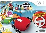Cheapest Pocoyo Racing & Racing Wheel on Nintendo Wii
