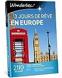 Wonderbox - Coffret cadeau couple - 3 JOURS DE REVE EN EUROPE - 2110 séjours en hôtels en Europe