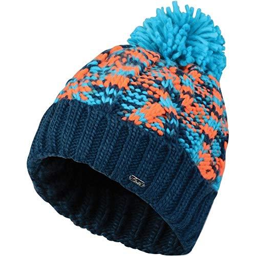Regatta Dare 2B Damen Risol Beanie Mütze (Einheitsgröße) (Blau/Orange)