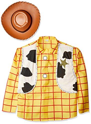 Woody Kostüm Toy Story, Erwachsene Kostüm–Standard Größe (Woody Kostüm Halloween)
