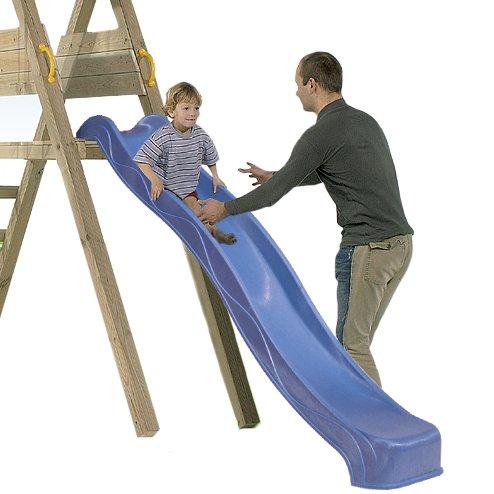 Tobogán infantil 135 cm BlueRabbit® - Parque infantil - color AZUL