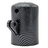 Homyl 52mm Staffa Supporto Strumento Laterale Foro Singolo Fibra Carbonio Auto