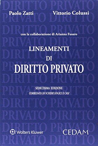 Lineamenti di diritto privato