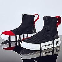 QQWWEERRTT Hohe Elastizität Socken Schuhe Sommer Neue Sportschuhe Weibliche Wilde Hip-Hop-Schuhe