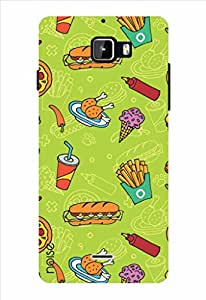 Noise Hotdog Fries Printed Cover for Micromax Canvas Nitro A311