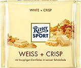 Ritter Sport Weiss + Crisp, 250 g