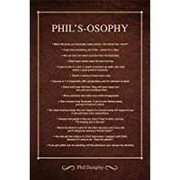 Phil's-osophy Poster: Life Lessons from Modern Family's Loving Dad - Phil Dunphy (61cm x 40.6cm)