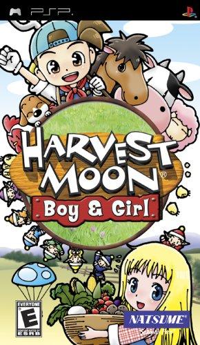 Harvest Moon Boy & Girl (Psp Harvest)