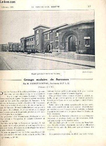 la-construction-moderne-43e-volume-1927-1928-fascicule-n-19-groupe-scolaire-de-suresnes-entre-vers-la-salle-des-fetes-et-la-piscine-cours-des-classes-piscine-d-39-eau-courante-salle-de-gymnastique-salle-des-fetes-la-division-des-immeubles