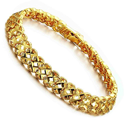 AnaZoz Schmuck Damen Mode Armband Armband Gold 18K Vergoldeten