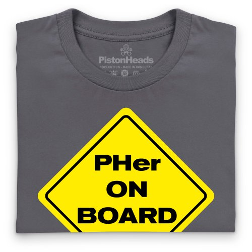 PHer On Board T-Shirt, Damen Anthrazit ...
