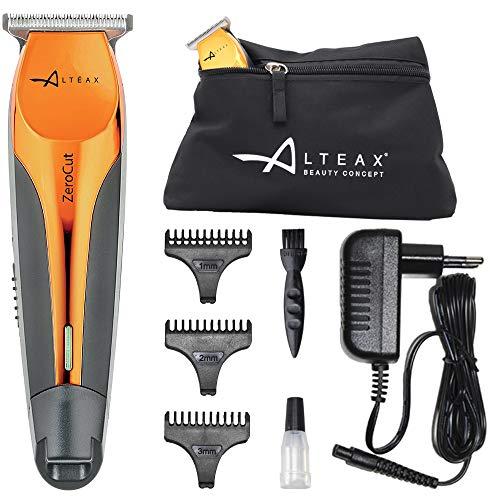 Alteax® - Cortapelos profesional cortapelos Zero Cut recargable con batería de litio + accesorios
