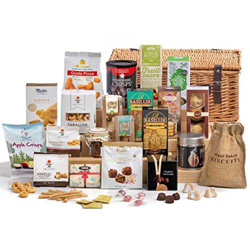 Time for Tea - Hamper Basket Gift - FREE UK Delivery