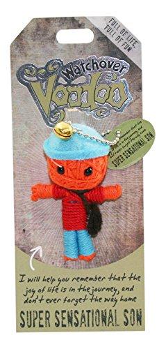 Watchover Voodoo-Puppe / Schlüsselring ~ Super Sensationellen Sohn Botschaft Usa