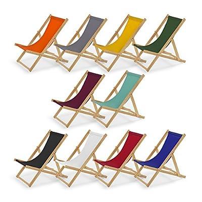 Gartenliege aus Holz Liegestuhl Relaxliege Strandstuhl von IMPWOOD auf Gartenmöbel von Du und Dein Garten