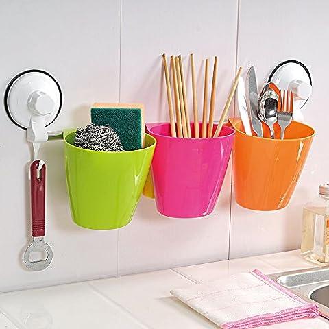 MSRRY Cucina creativa forniture parete Rack asciugamano parete rack di ammettere le bacchette di aspirazione e bastoncini rack rack ammettere cucina