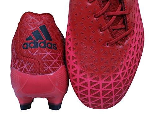adidas Crazyquick Malice FG, Chaussures de Rugby Homme Rouge - Rojo (Rojo (Rojimp / Negbas / Rojpot))