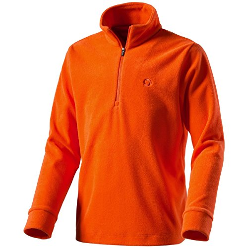 Etirel Kinder Filippo 2 Fleece-Shirt, Orange, 164