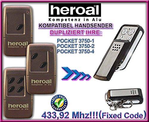 Heroal kompatibel handsender / klone TR-328