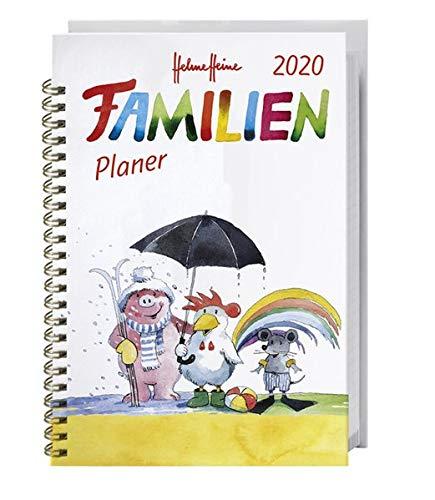 Helme Heine Familienplaner Buch A6 Kalender 2020