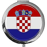 "metALUm - Extragroße Pillendose in runder Form""Flagge Kroatien"" preisvergleich bei billige-tabletten.eu"