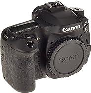 Canon EOS 80D DSLR Digitalkamera Gehäuse Body (24,2 Megapixel, 7,7 cm (3 Zoll) Display, APS-C Dual Pixel CMOS