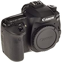 Canon EOS 80D (24.2 MP, 3 Inch LCD) - Black