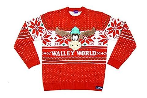 Weihnachten Vacation Marty Elch Walley World Rot hässlich Weihnachten Sweater (Erwachsene Medium) (Weihnachts-national Lampoon)