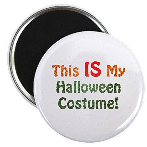CafePress–This Is My Halloween Kostüm.–5,7cm rund Magnet, Kühlschrank -